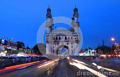 Charminar in Hyderabad Editorial Stock Photo