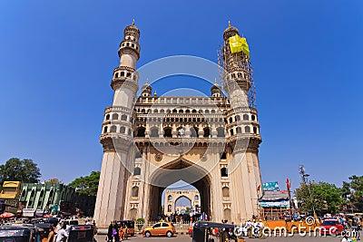Charminar Hyderabad Editorial Stock Photo
