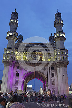Free Charminar Hyderabad India Stock Photo - 38980080