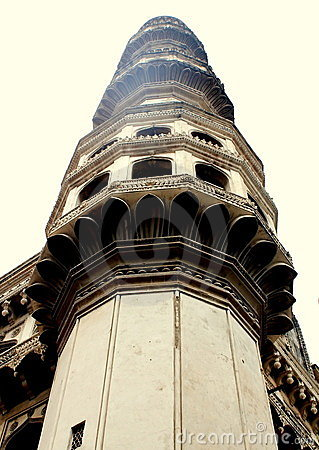 Charminar minaret, hyderabad, India