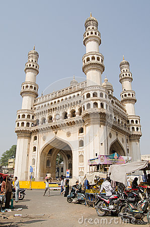 Charminar Tower, Hyderabad Editorial Image