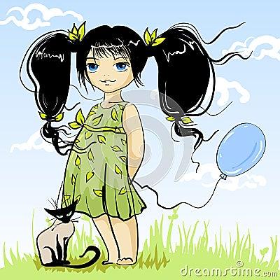 Charming girlie