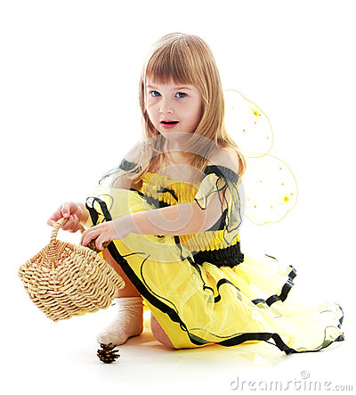 Free Charming Little Girl Stock Images - 51436714