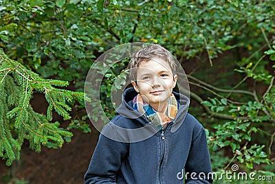 Charming Teenage Boy