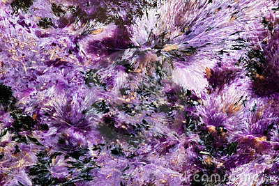 Siberian mineral named charoite texture surface background