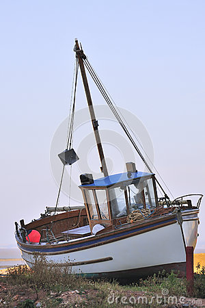 Free Charter Fishing Boat, Somerset Royalty Free Stock Photos - 27203488