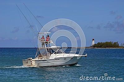 Charter Sport Fishing Boat