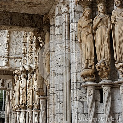 Chartres Cathedral, detail 09