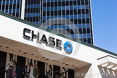Chase Bank Office Editorial Photography