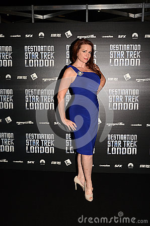 Chase Masterson At Destination Star Trek In  London Docklands 19 Editorial Photo
