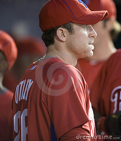 Chase Utley Editorial Stock Image