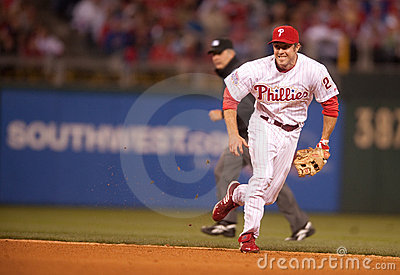 Chase Utley Editorial Photography
