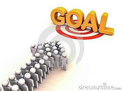 Chasing goal