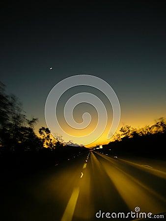 Chasing the sunset to Merida