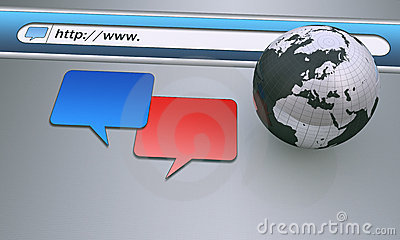 Chat box icons
