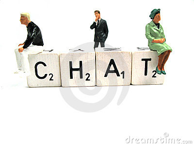 Chat and moderator