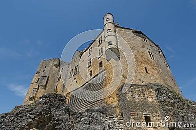 Chateau Beynac, medieval castle in Dordogne