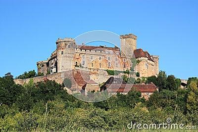 Chateau Castelnau Bretenoux Editorial Photography