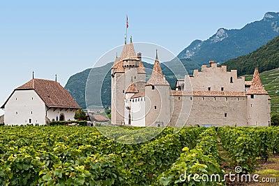 Chateau dAigle, Switzerland