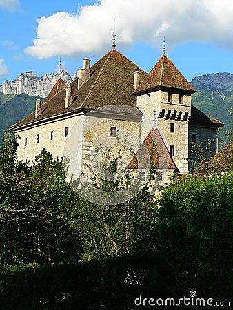 Chateau d Here, Duingt ( France )