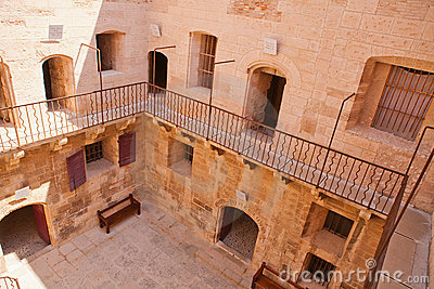 Chateau D If Courtyard , Marseille