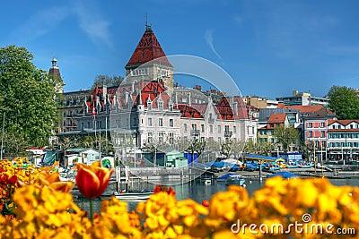 Chateau dOuchy, Lausanne, Switzerland