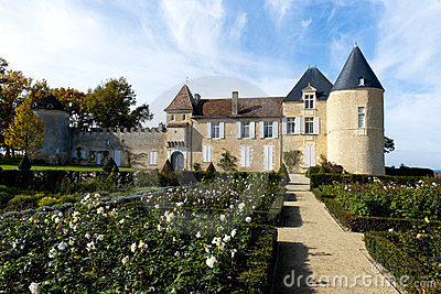 Chateau d Yquem, France Editorial Stock Image