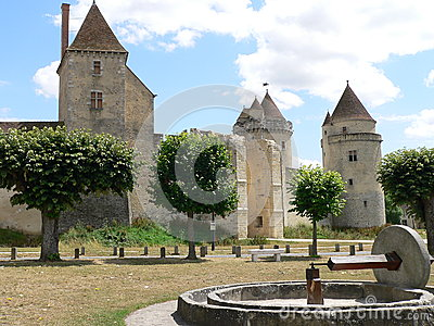 Chateau de Blandy-les-Tours ( France )