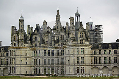 Chateau de Chambord (Loire Valley, France)