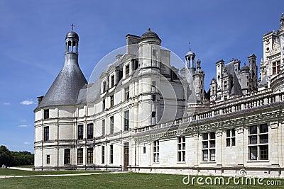 Chateau de Chambord - Loire Valley - France Editorial Photo
