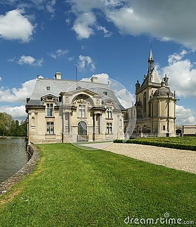 Chateau de Chantilly ( Chantilly Castle ), France