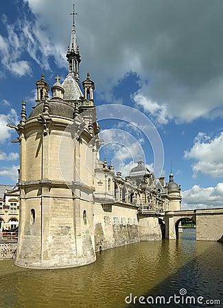 Chateau de Chantilly, Oise, Picardie, France