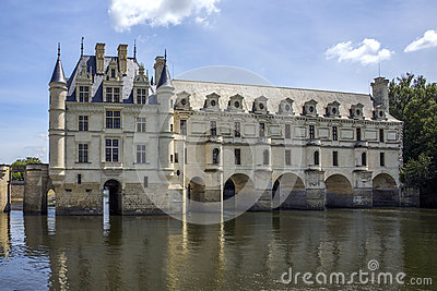 Chateau de Chenonceau- Loire Valley - France. Editorial Image