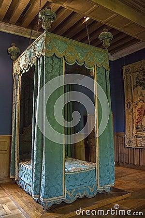 Chateau de Chenonceau - Loire Valley - France Editorial Stock Photo