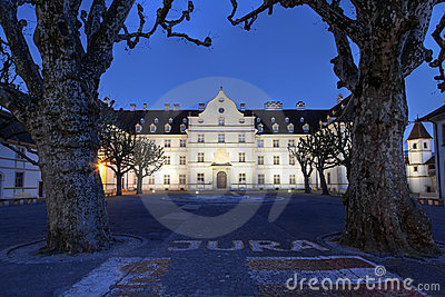Chateau de Delemont, Jura, Switzerland