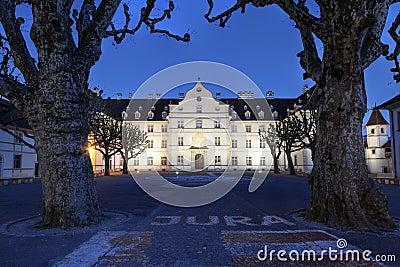 Chateau de Delemont, Jura, Switzerland