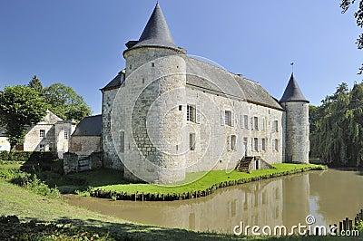 Chateau de la cour, rumigny, ardennes