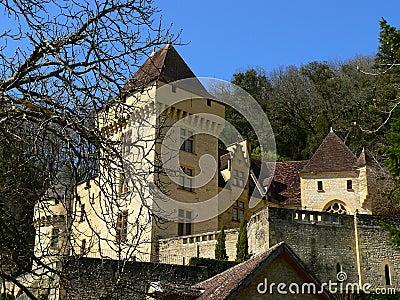 Chateau de La Malartrie, La Roque-Gageac (France )