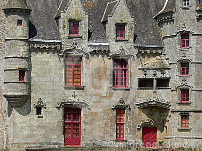 Chateau de Lanrigan ( France )