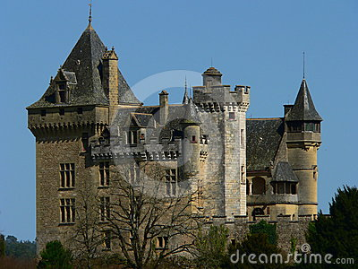 Chateau de Montfort, Dordogne ( France )