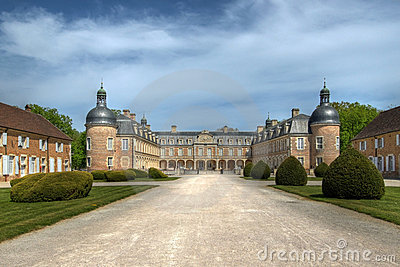 Chateau de Pierre-de-Bresse 02, France