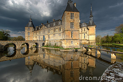 Chateau de Sully 01, Burgundy, France
