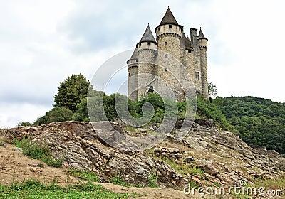 Chateau de Val in Lanobre, France