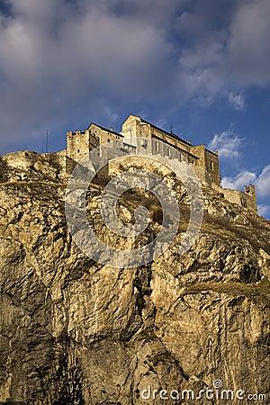 Free Chateau De Valere Stock Image - 13202121
