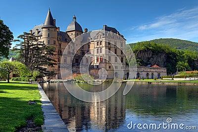 chateau de vizille 02 near grenoble france royalty free stock images image 9465929. Black Bedroom Furniture Sets. Home Design Ideas