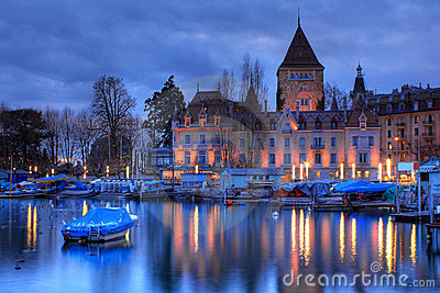Chateau dOuchy, Lausanne, Switzerland
