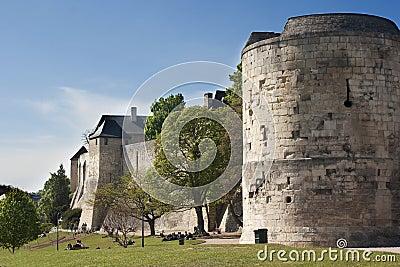 Chateau Ducal, Ducal Castle in Caen, France