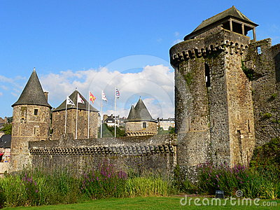 Chateau, Fougeres ( France )