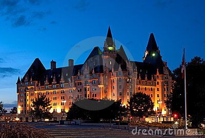 Chateau Laurier Hotel in Ottawa