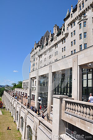 Free Chateau Laurier In Ottawa Royalty Free Stock Images - 36241839